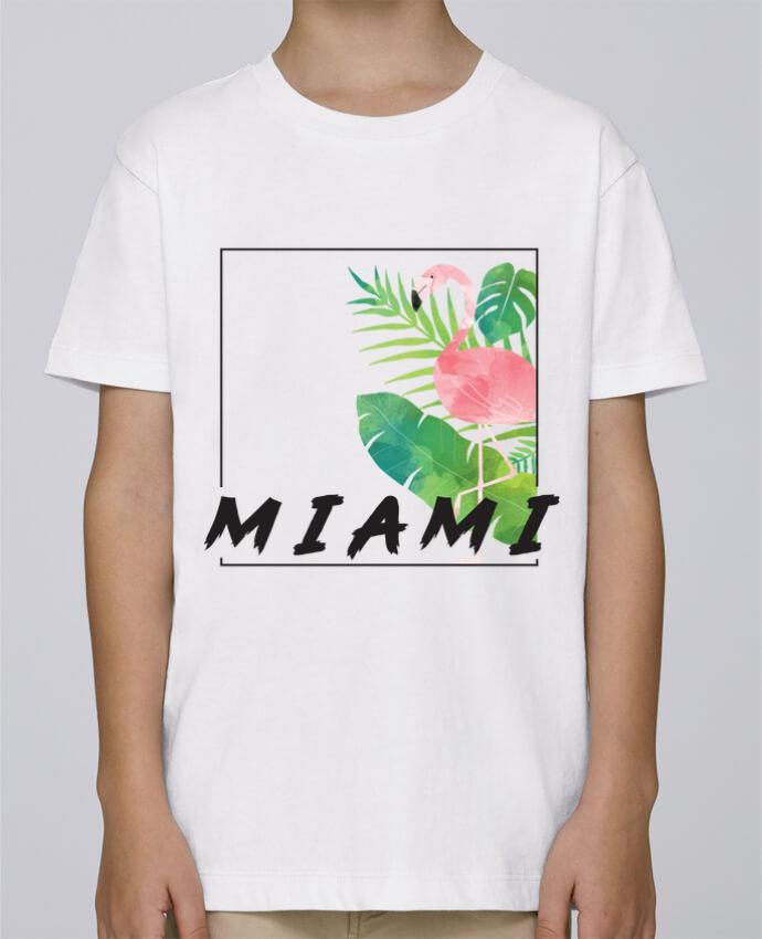 Camiseta de cuello redondo Stanley Mini Paint Miami por KOIOS design