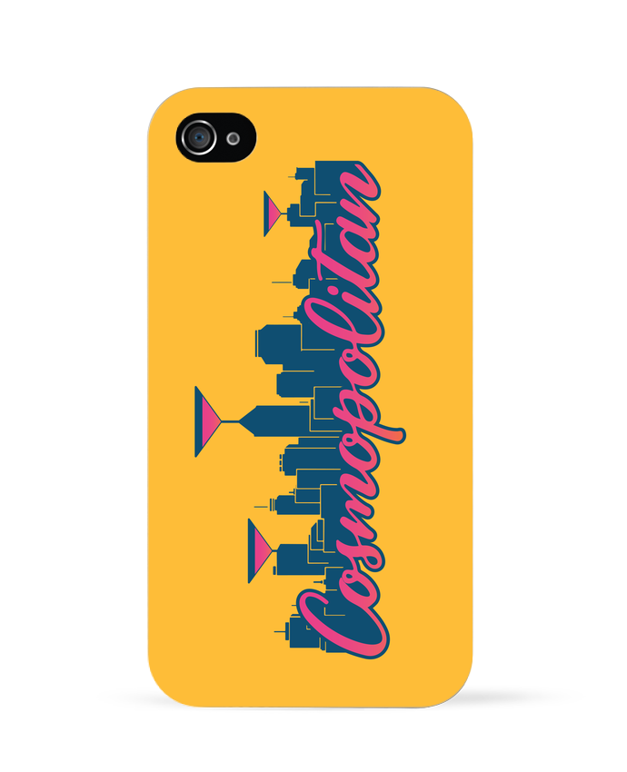 Coque iPhone 4 Cosmopolitan Cocktail Summer por  tunetoo