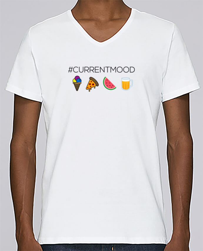 Camiseta Hombre Cuello en V Stanley Relaxes #Currentmood por tunetoo
