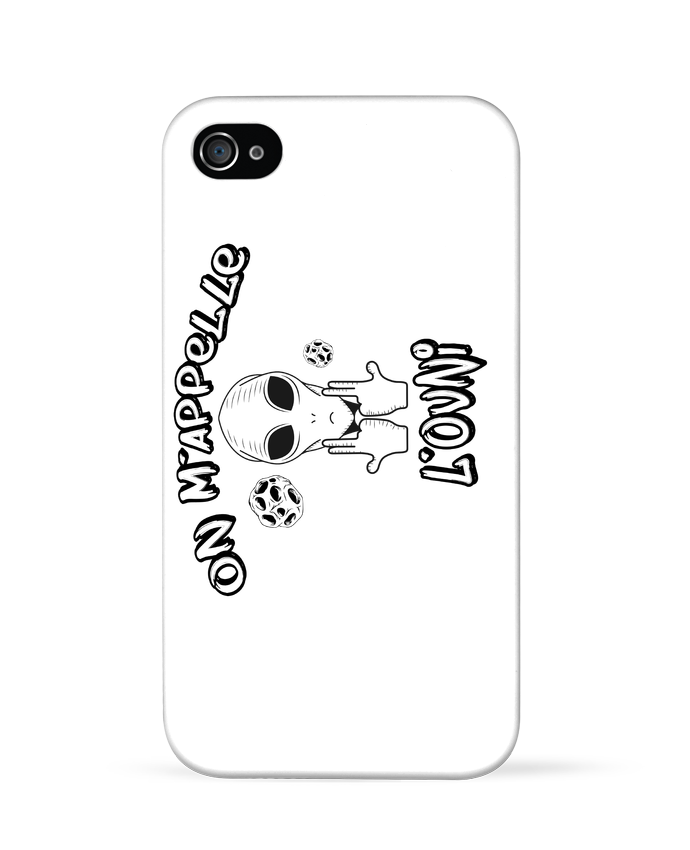 Coque iPhone 4 Ovni Jul por  tunetoo