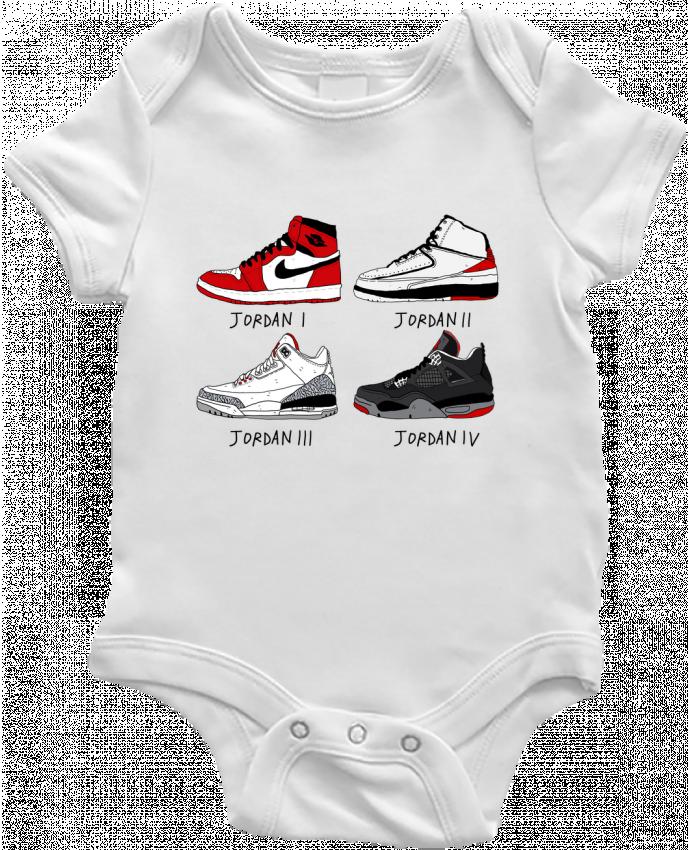 Body Bebé Best of Jordan por Nick cocozza