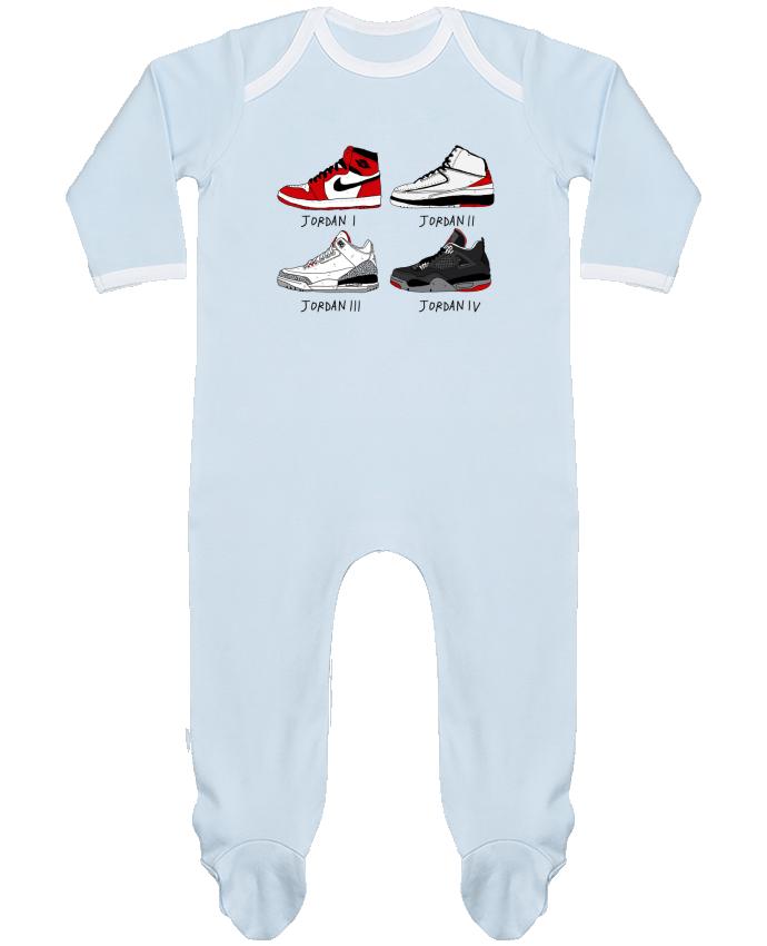 Pijama Bebé Manga Larga Contraste Best of Jordan por Nick cocozza