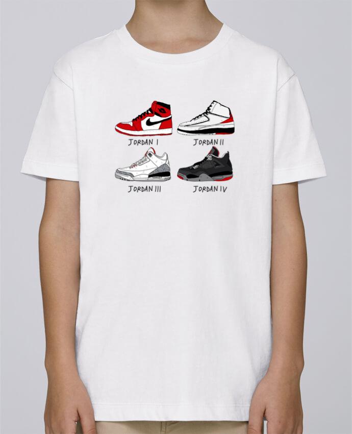 Camiseta de cuello redondo Stanley Mini Paint Best of Jordan por Nick cocozza