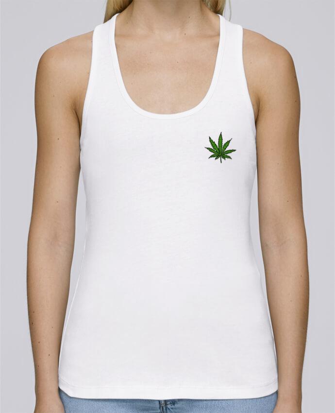 Camiseta de tirantes algodón orgánico mujer Stella Dreams Cannabis por Nick cocozza en coton Bio
