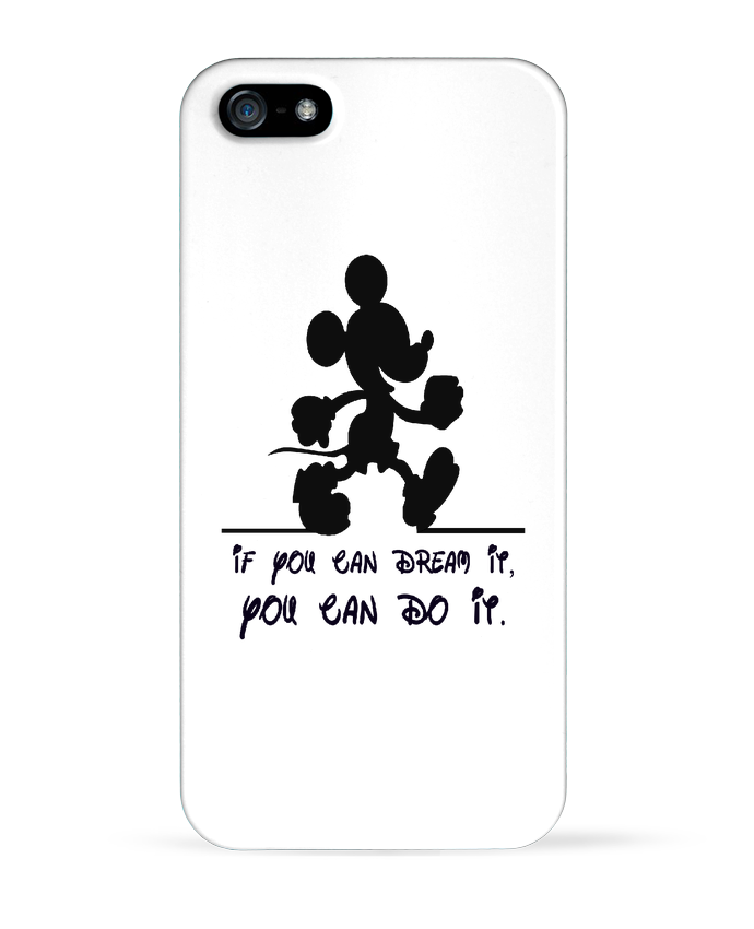 Coque iPhone 5 MICKEY DREAM por stephfen