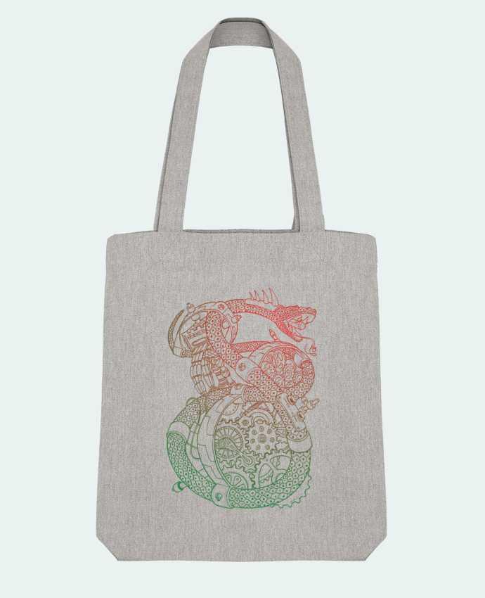 Bolsa de Tela Stanley Stella Méca Serpent por Tomi Ax