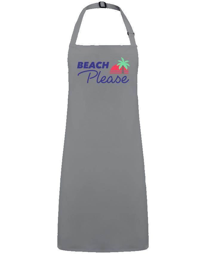 Delantal Sin Bolsillo Beach please por  Ruuud
