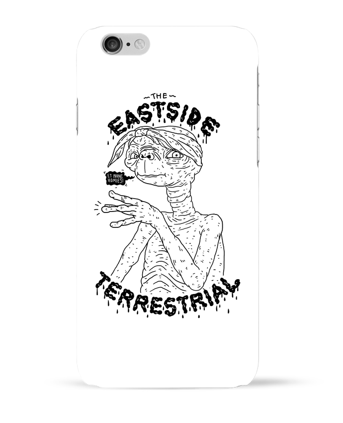 Carcasa  Iphone 6 Gangster E.T por Nick cocozza