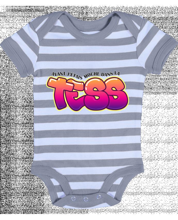 Body Bebé a Rayas PNL Moche dans la Tess - tunetoo