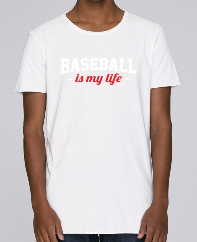 Camiseta Hombre Tallas Grandes Stanly Skates Baseball is my life por Original t-shirt