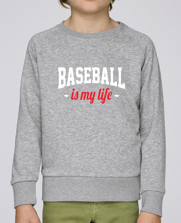 Sudadera Cuello Redondo Niño Stanley Mini Scouts Baseball is my life por Original t-shirt