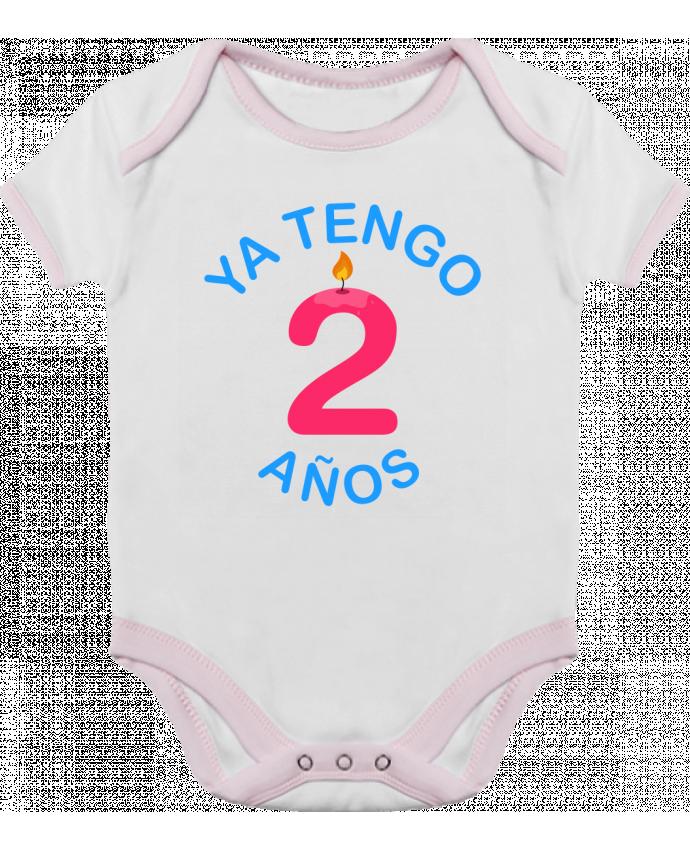 Body Bebé Contraste Ya Tengo 2 años por tunetoo