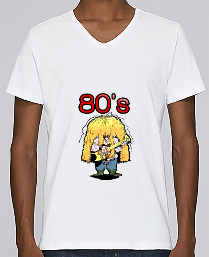 Camiseta Hombre Cuello en V Stanley Relaxes Otto Vandenmoortele por Tomi Ax - tomiax.fr