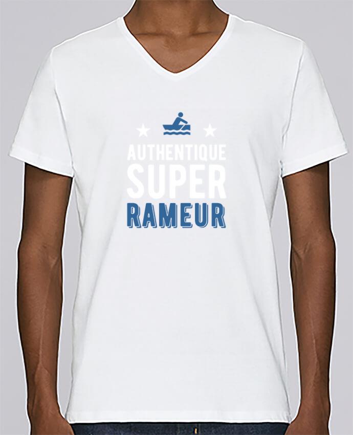 Camiseta Hombre Cuello en V Stanley Relaxes Authentique rameur por Original t-shirt