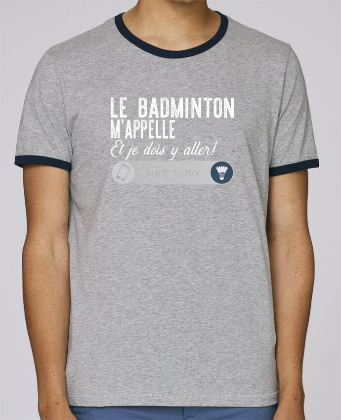 Camiseta Bordes Contrastados Hombre Stanley Holds Badminton m'appelle pour femme por Original t-shirt