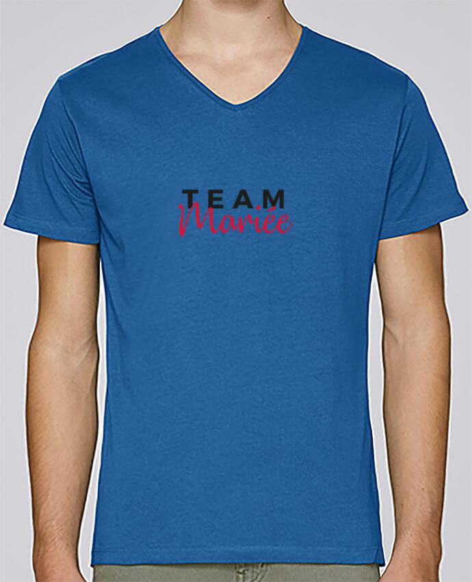Camiseta Hombre Cuello en V Stanley Relaxes Team Mariée por Nana