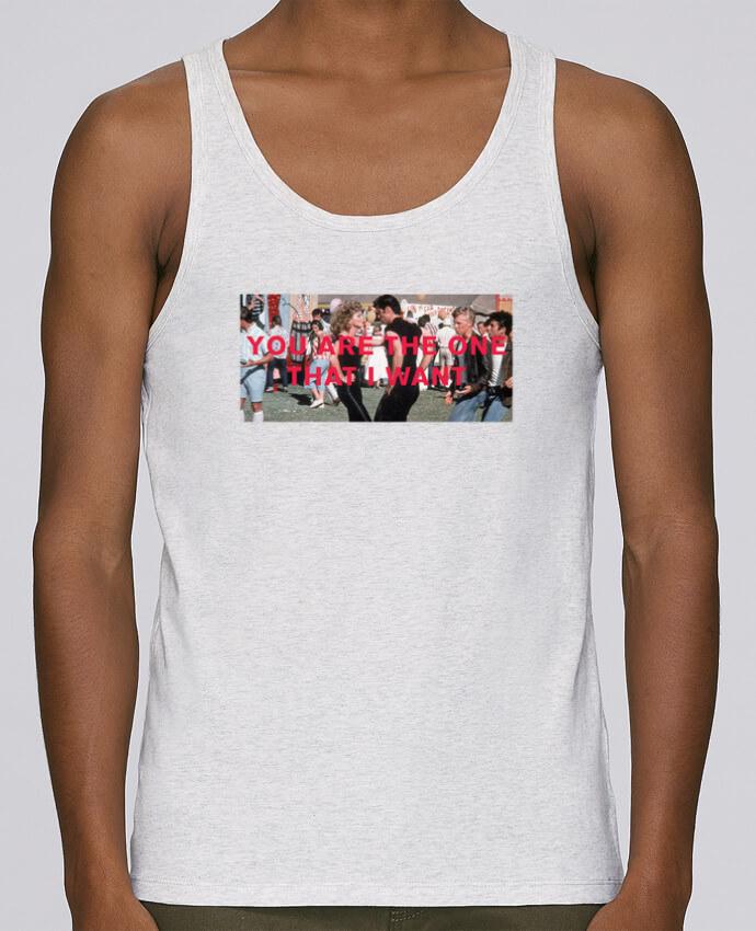 Camiseta de tirantes algodón orgánico hombre Stanley Runs Grease - You are the one por tunetoo 100% coton bio