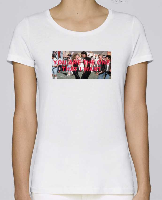 Camiseta Mujer Stellla Loves Grease - You are the one por tunetoo