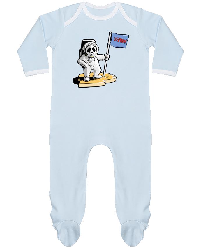 Pijama Bebé Manga Larga Contraste Panda-cosmonaute por Tomi Ax - tomiax.fr