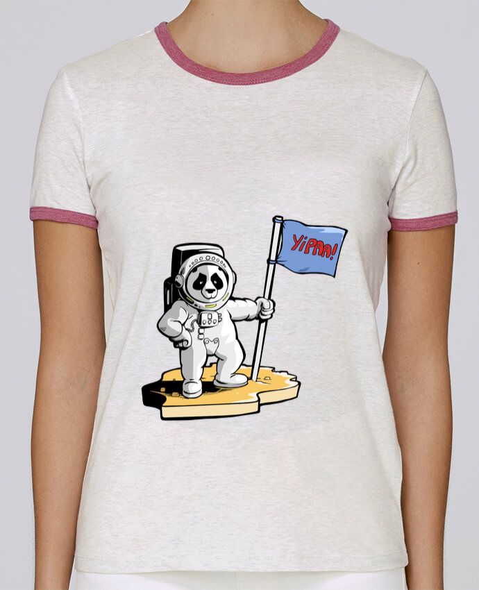 Camiseta Mujer Stella Returns Panda-cosmonaute pour femme por Tomi Ax - tomiax.fr