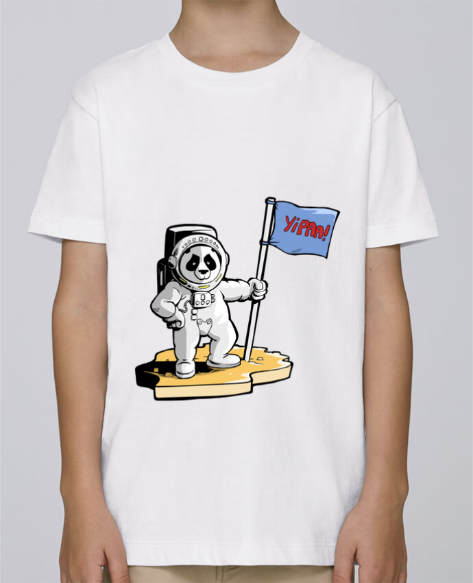 Camiseta de cuello redondo Stanley Mini Paint Panda-cosmonaute por Tomi Ax - tomiax.fr