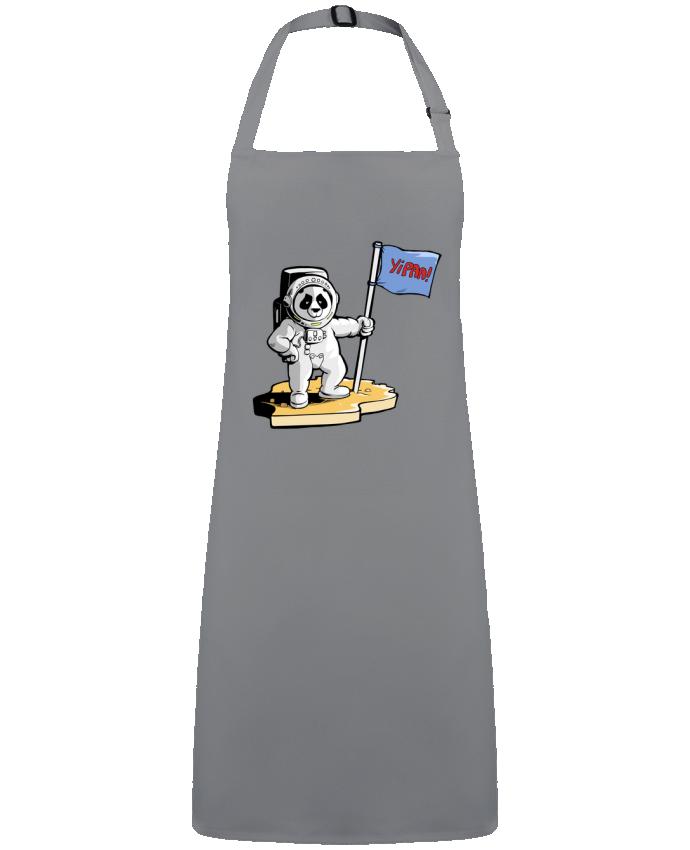 Delantal Sin Bolsillo Panda-cosmonaute por  Tomi Ax - tomiax.fr