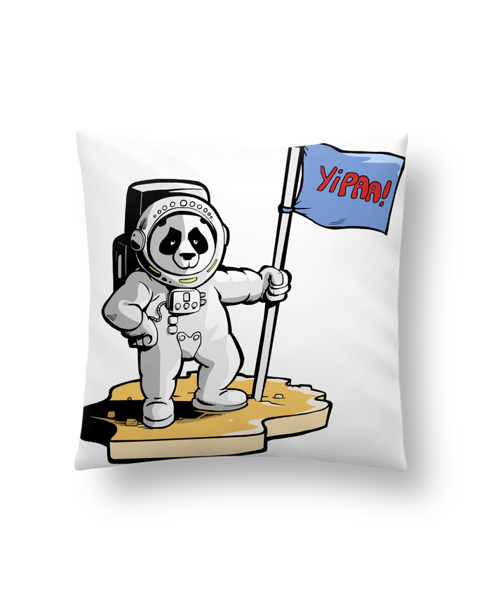 Cojín Sintético Suave 45 x 45 cm Panda-cosmonaute por Tomi Ax - tomiax.fr