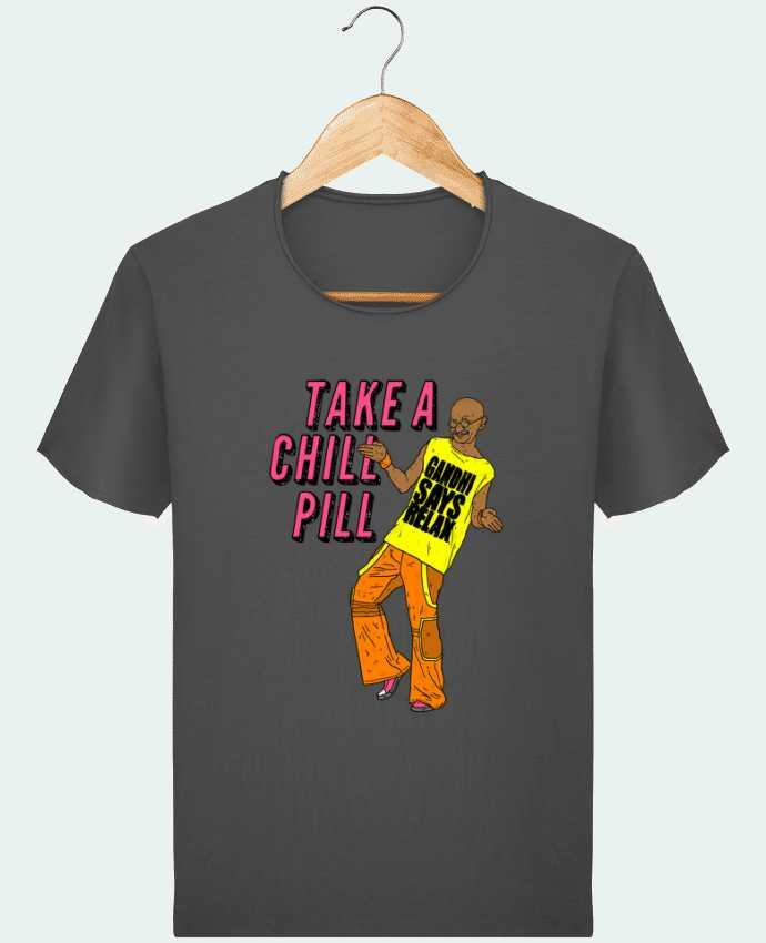 Camiseta Hombre Stanley Imagine Vintage Chill Pill por Nick cocozza