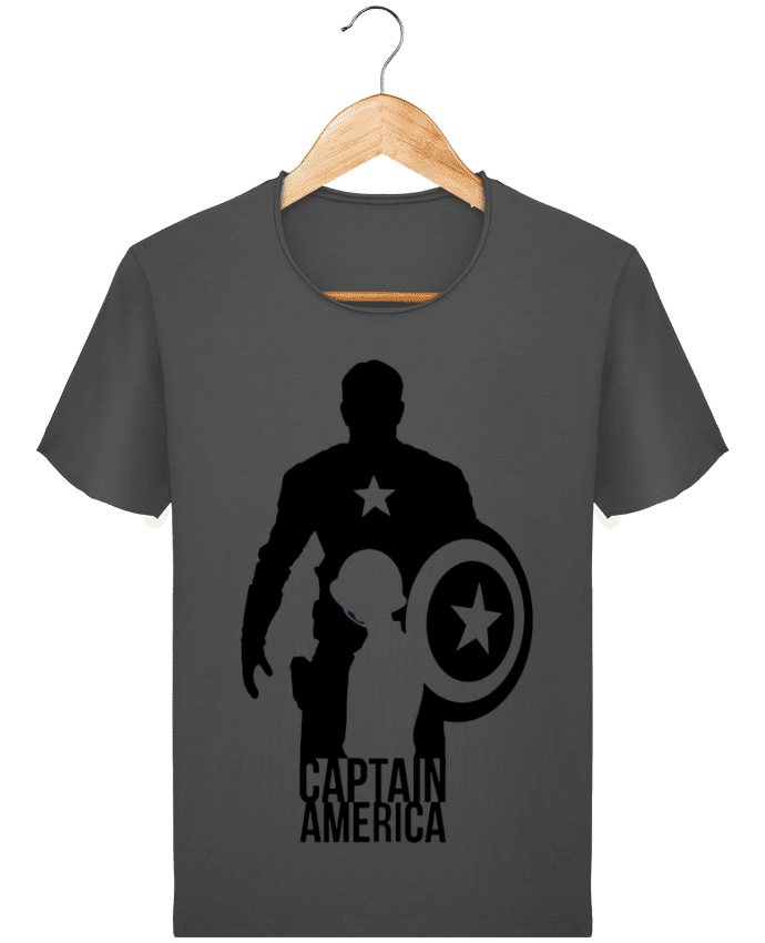 Camiseta Hombre Stanley Imagine Vintage Captain america por Kazeshini