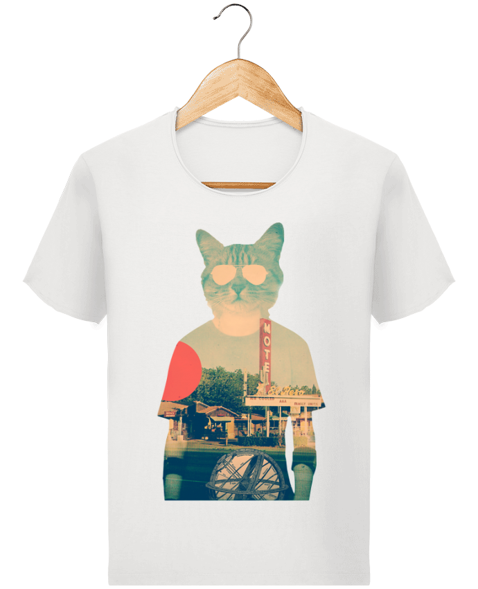 Camiseta Hombre Stanley Imagine Vintage Cool cat por ali_gulec