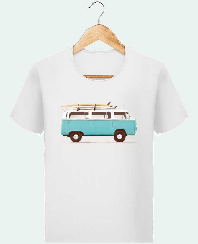 Camiseta Hombre Stanley Imagine Vintage Blue van por Florent Bodart