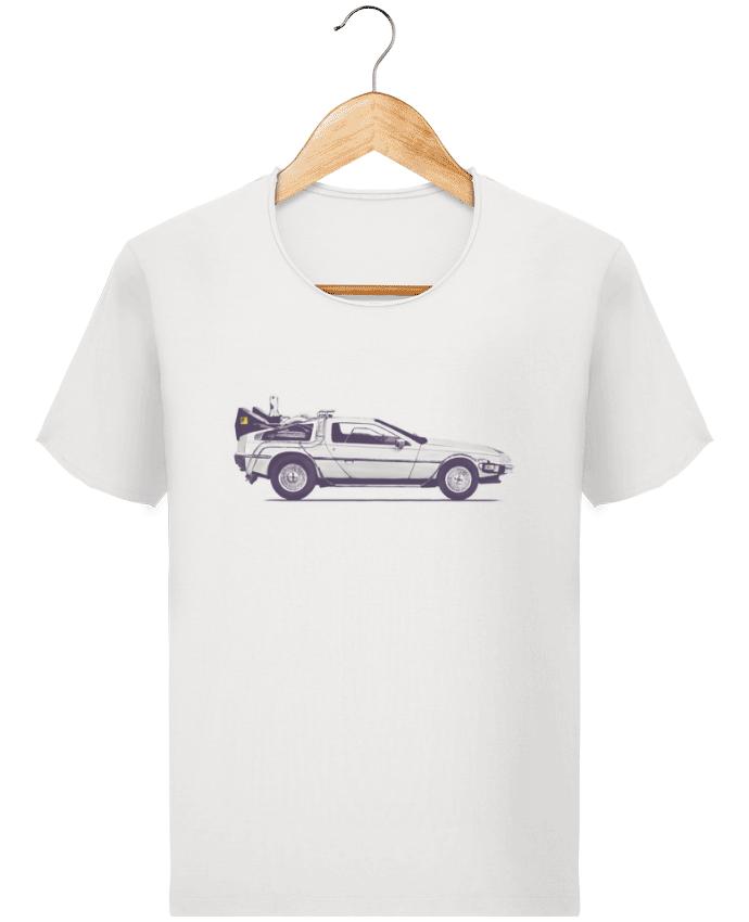 Camiseta Hombre Stanley Imagine Vintage Dolorean por Florent Bodart