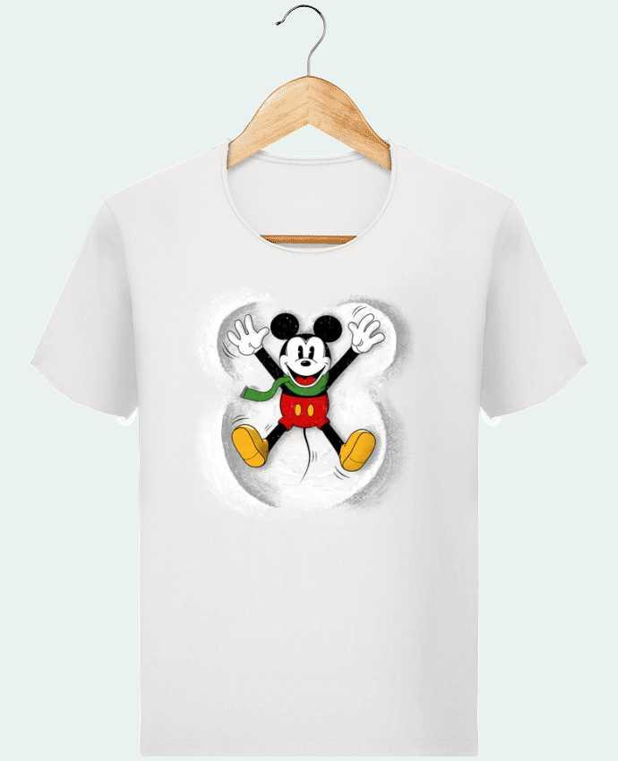 Camiseta Hombre Stanley Imagine Vintage Mickey in snow por Florent Bodart