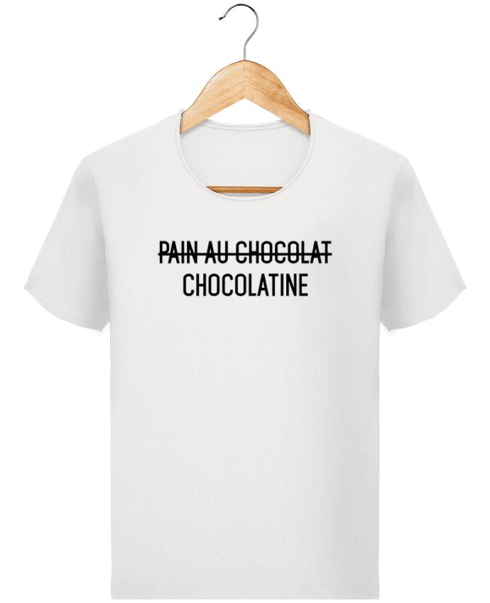 Camiseta Hombre Stanley Imagine Vintage Chocolatine por tunetoo