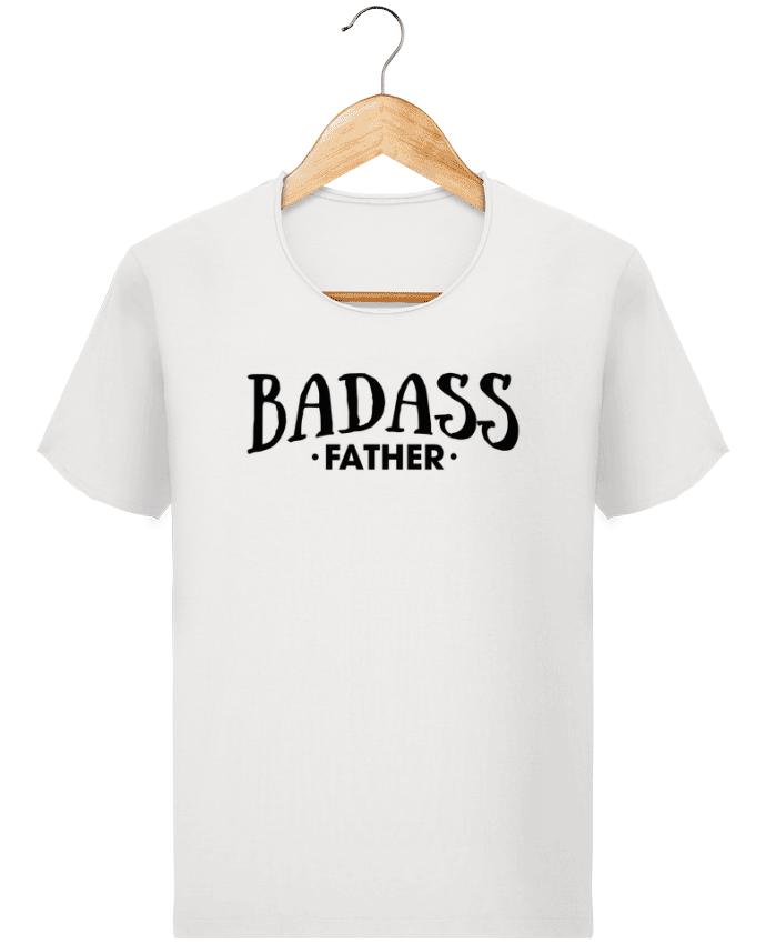 Camiseta Hombre Stanley Imagine Vintage Badass Father por tunetoo
