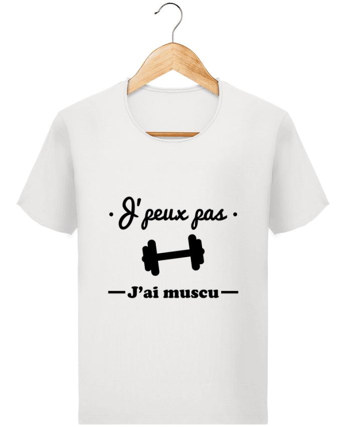 Camiseta Hombre Stanley Imagine Vintage J'peux pas j'ai muscu, musculation por Benichan