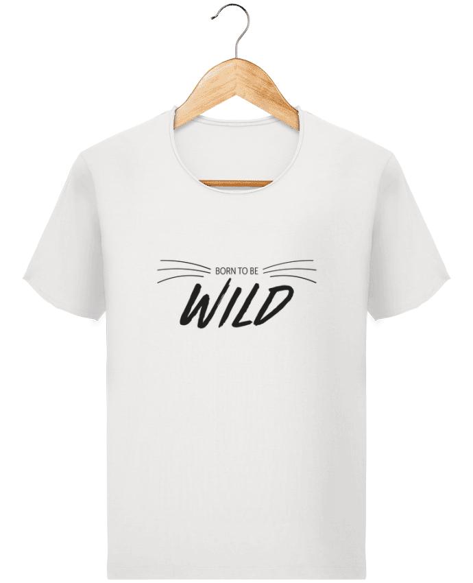 Camiseta Hombre Stanley Imagine Vintage BORN TO WILD por IDÉ'IN