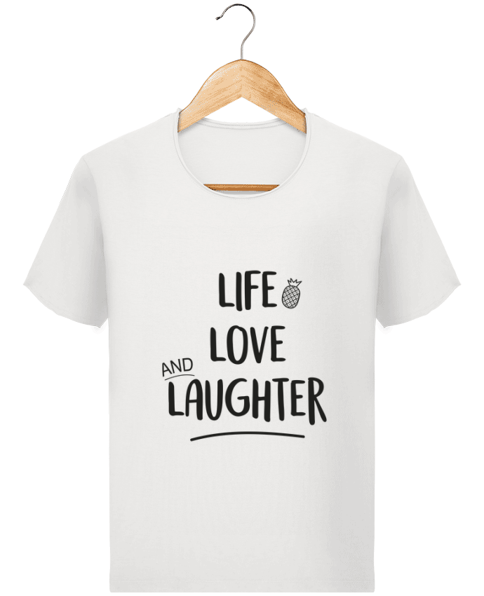 Camiseta Hombre Stanley Imagine Vintage Life, love and laughter... por IDÉ