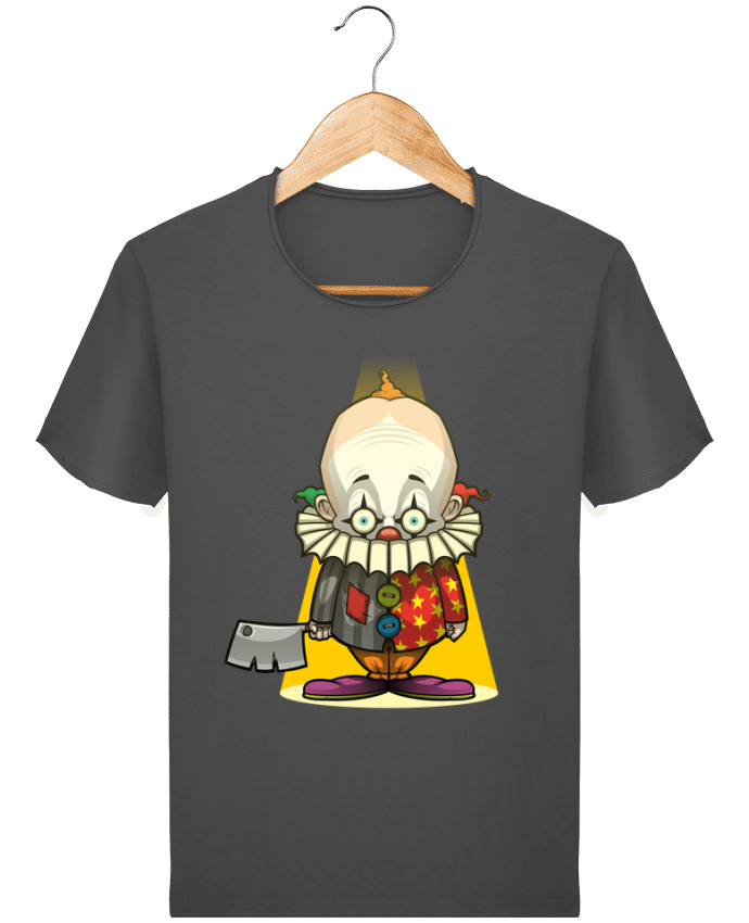 Camiseta Hombre Stanley Imagine Vintage Choppy Clown por SirCostas