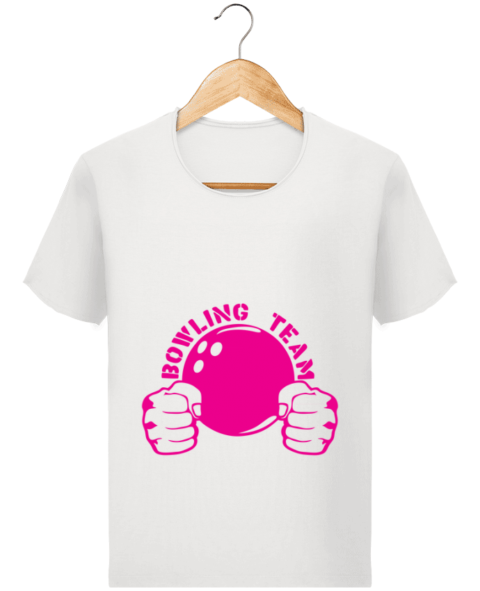 Camiseta Hombre Stanley Imagine Vintage bowling team poing fermer logo club por Achille