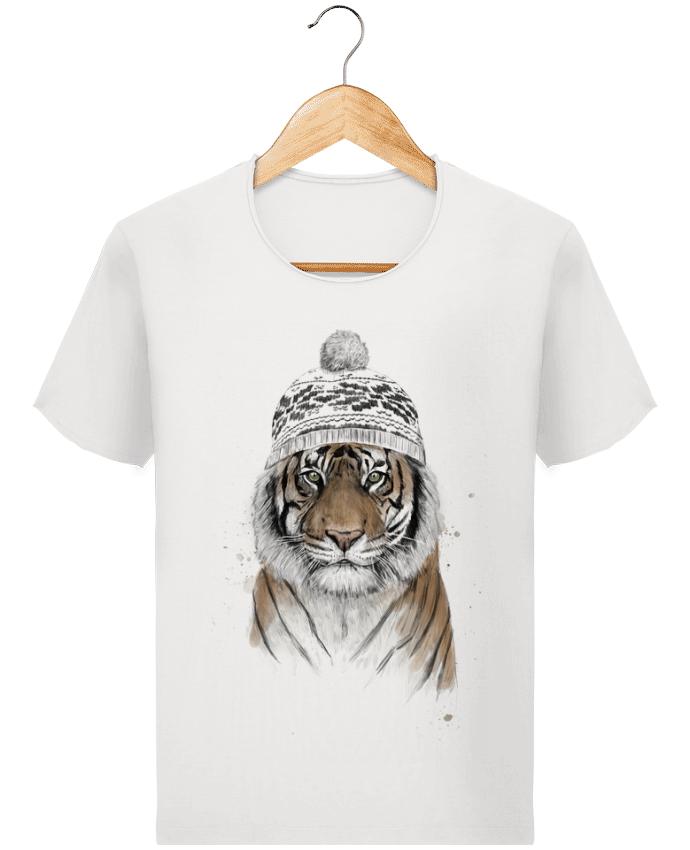 Camiseta Hombre Stanley Imagine Vintage Siberian tiger por Balàzs Solti