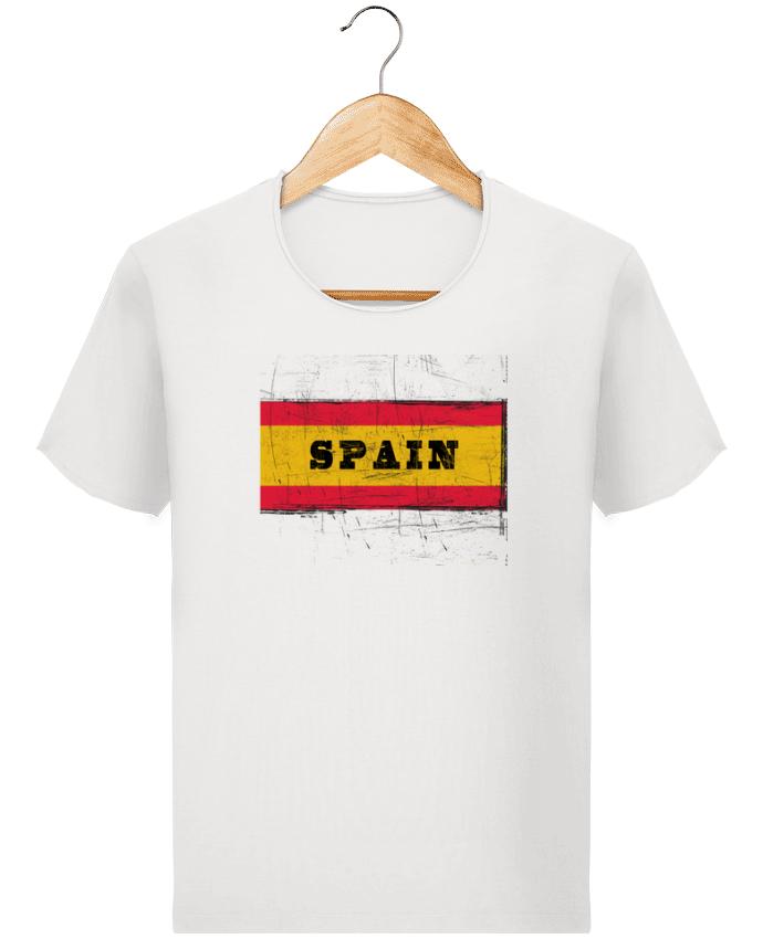 Camiseta Hombre Stanley Imagine Vintage Drapeau espagnol por Les Caprices de Filles