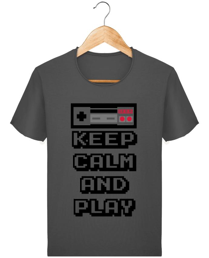 Camiseta Hombre Stanley Imagine Vintage KEEP CALM AND PLAY por SG LXXXIII