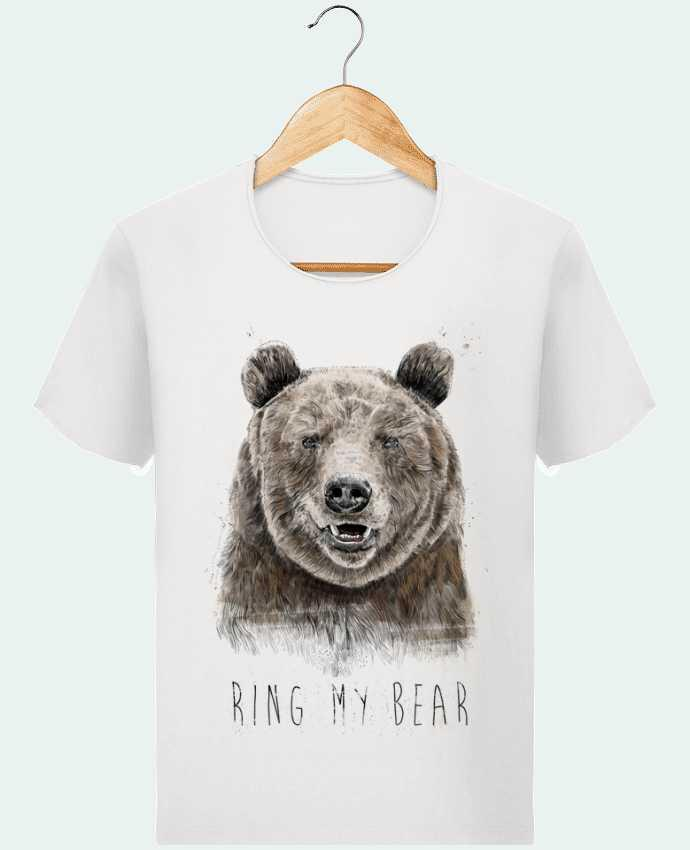 Camiseta Hombre Stanley Imagine Vintage Ring my bear por Balàzs Solti