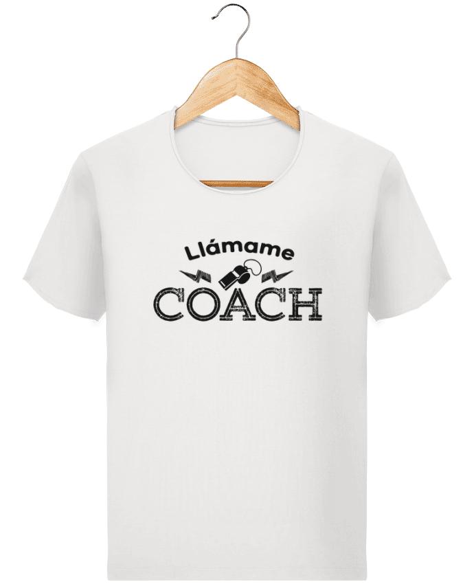 Camiseta Hombre Stanley Imagine Vintage Llámame Coach por tunetoo