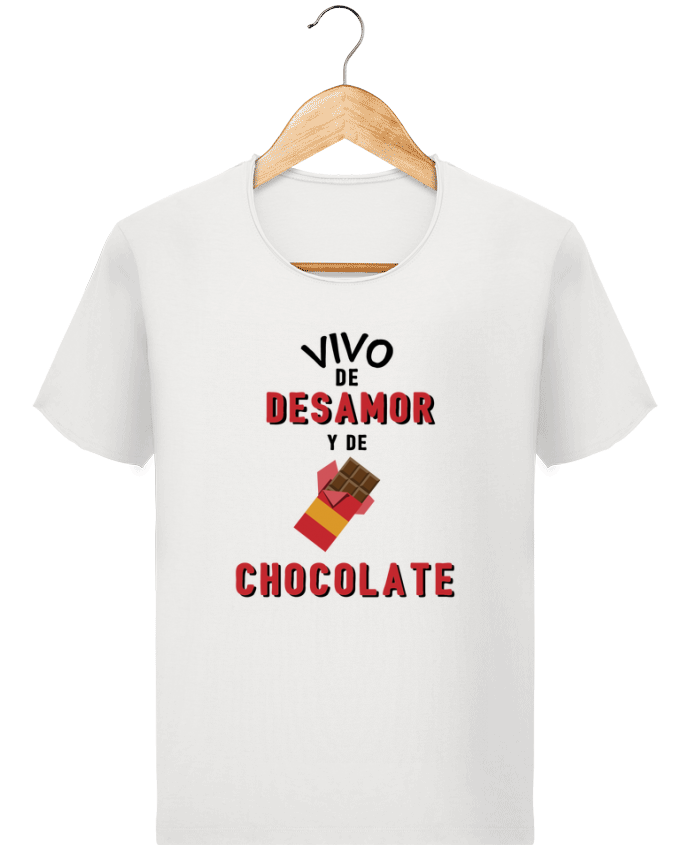 Camiseta Hombre Stanley Imagine Vintage Vivo de desamor y de chocolate por tunetoo