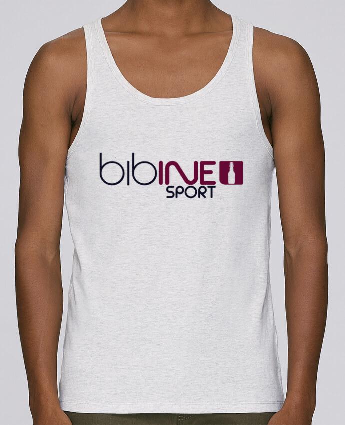 Camiseta de tirantes algodón orgánico hombre Stanley Runs BIBINE SPORT por PTIT MYTHO 100% coton bio