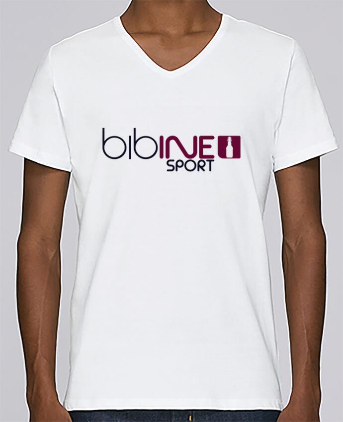 Camiseta Hombre Cuello en V Stanley Relaxes BIBINE SPORT por PTIT MYTHO