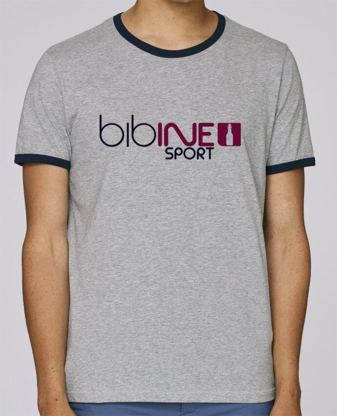 Camiseta Bordes Contrastados Hombre Stanley Holds BIBINE SPORT pour femme por PTIT MYTHO
