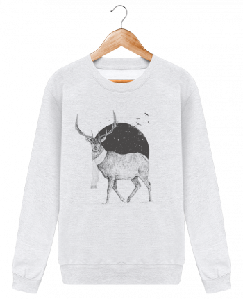 Sudadera Cuello Redondo Unisex Winter is all around por Balàzs Solti